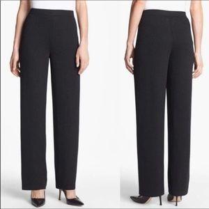 St John Basics Santana Knit Pants 14 Black